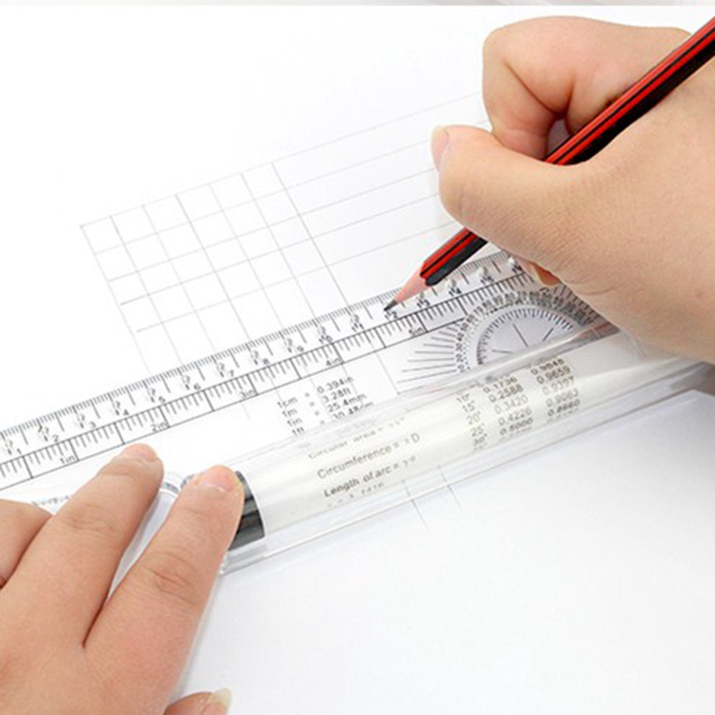 Angle Parallel Ruler Foot Chiban Angle Rule Balancing Scale Drawing Reglas