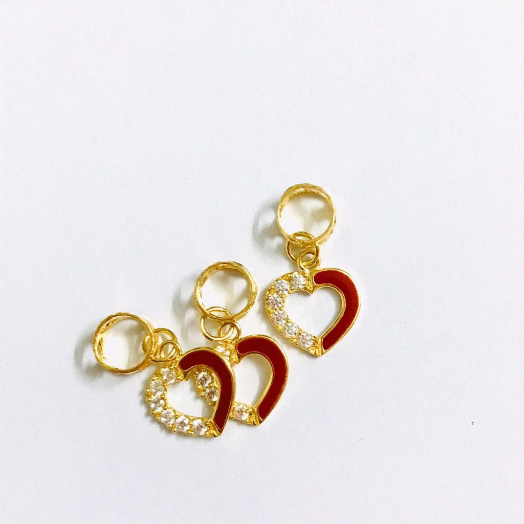 Masdora Charms and beads Emas 916 - Enamel Series (916 Gold)