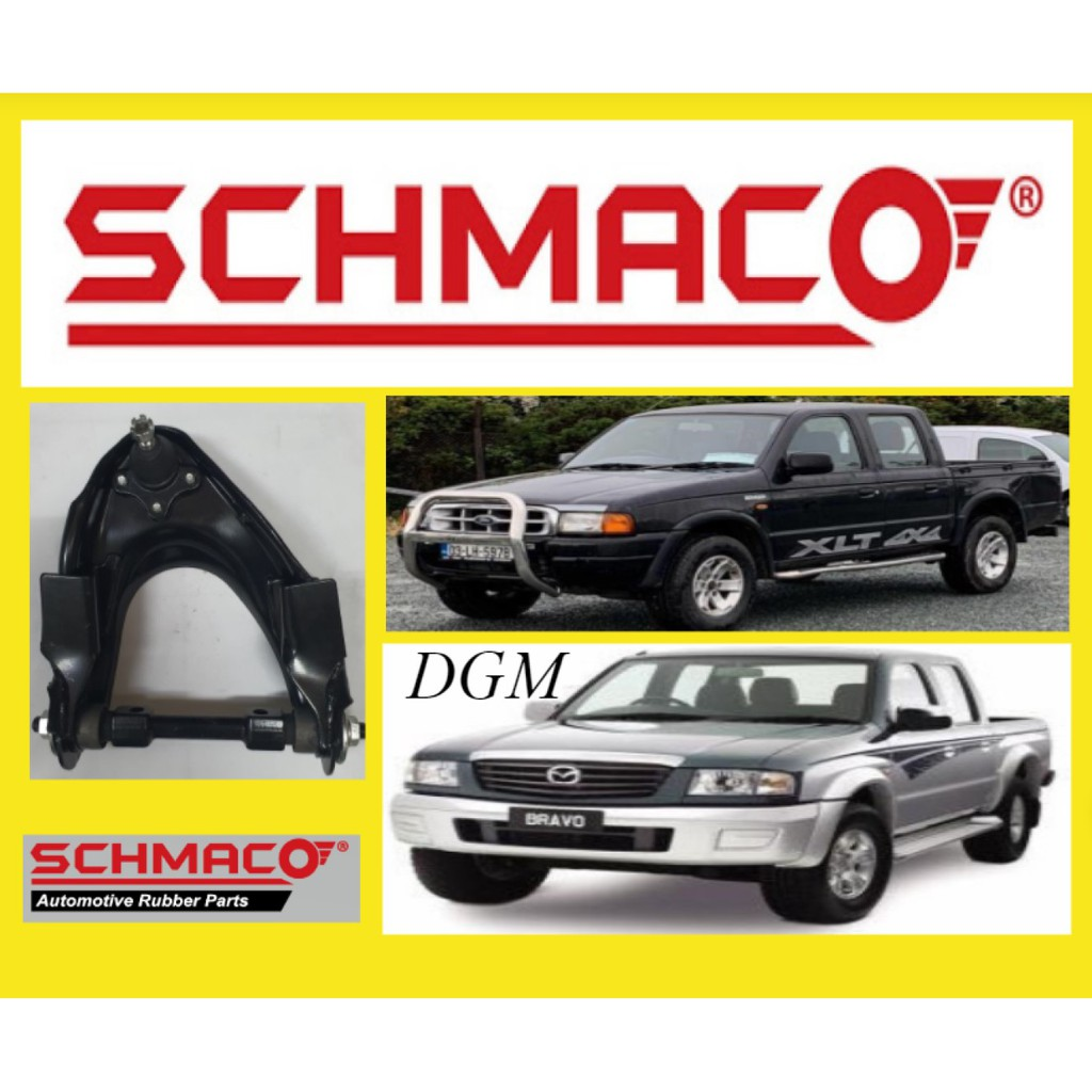 SCHMACO Ford Ranger WL Courier / Mazda Fighter B2500 4X4 4WD 2000-2006Y Front Left / Right Upper Arm With Ball Joint
