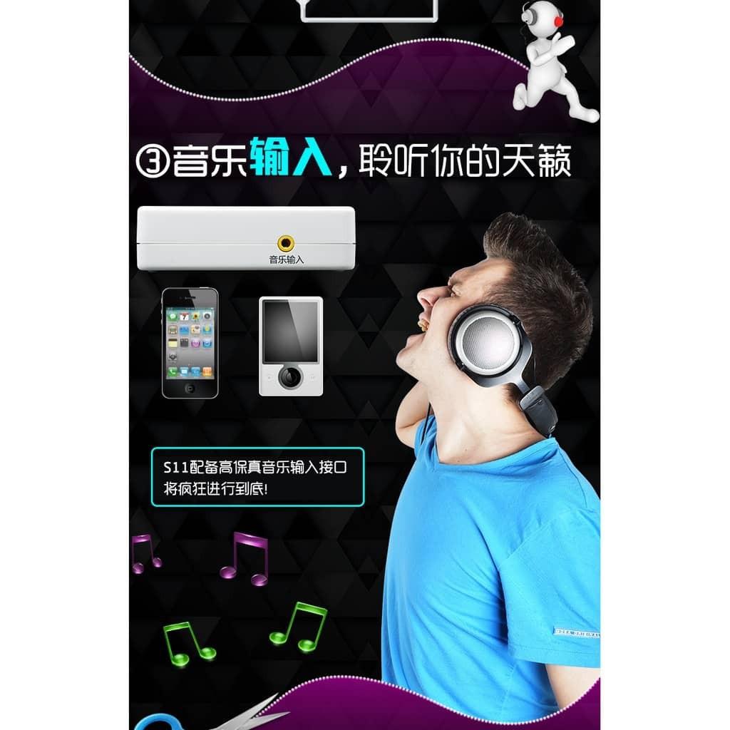 [Ready Stock] XOX Sound Card USB external sound card | 客所思 S11 USB XOX 音效卡 聲卡 USB外接式音效卡 錄音卡
