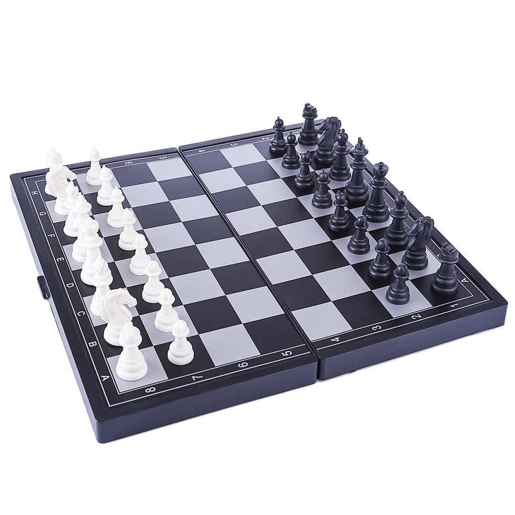 Mini Chess Bermagnet dan Boleh di Lipat