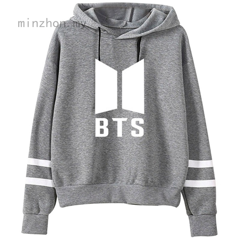 Womens Kpop BTS Bangtan Boys Sweatshirt Hoodie SUGA Rap JIMIN JIN V Sweater