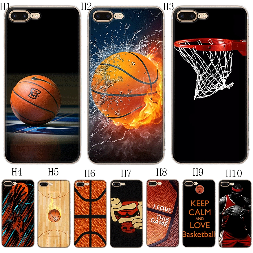 Phone Case For Iphone X Xs Max Xr Cover Basketball Wallpaper