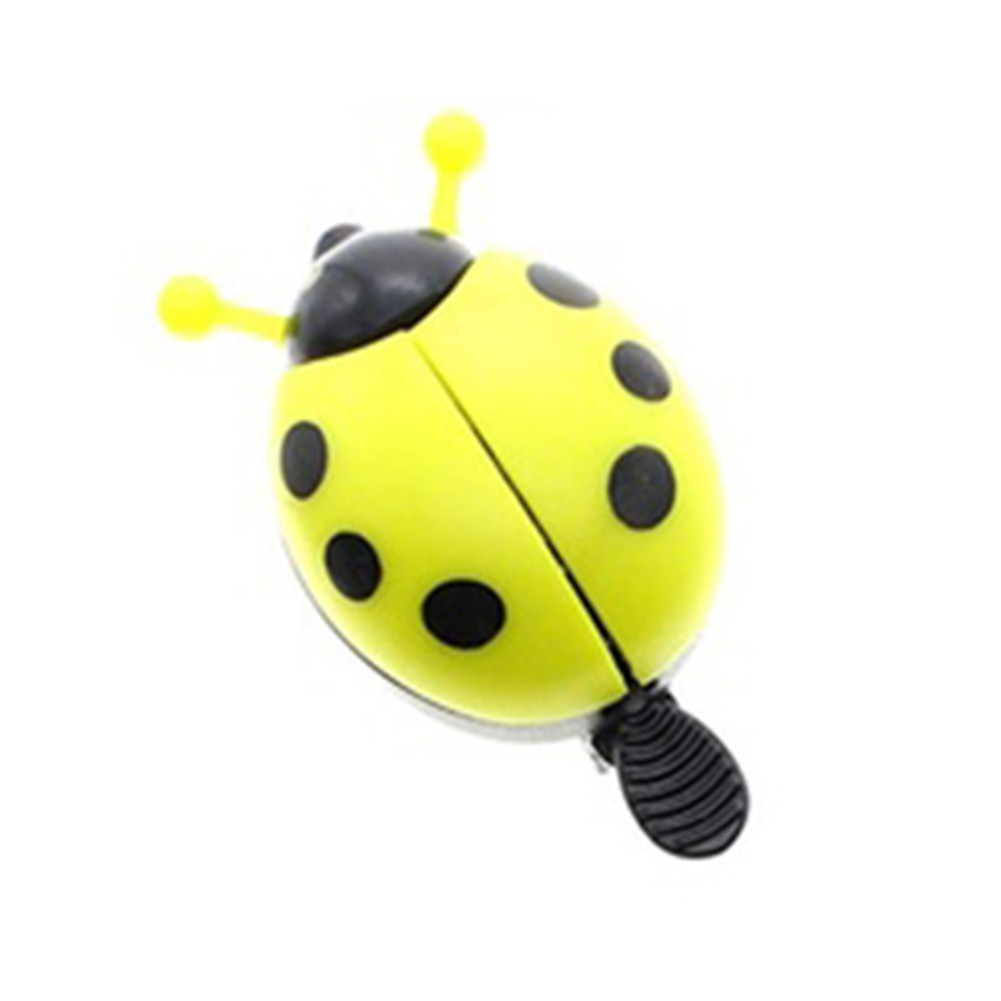 Kids Bike Alarm Ladybug Bell Hooter Child Bicycle Squeeze Fun Horn Exquisite Toy