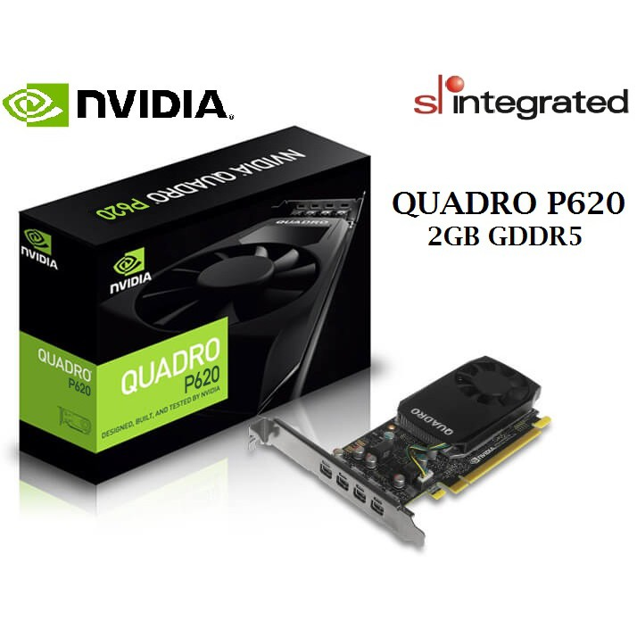 Leadtek Nvidia Quadro P620 2GB GDDR5 Professional Graphics Card