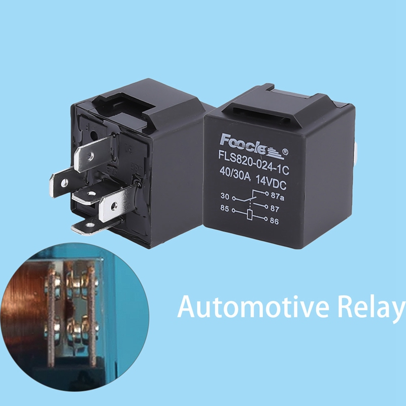 12V 40A 5 Pin Relay Automotive Changeover Car Bike Boat Switch For Car Bike Van