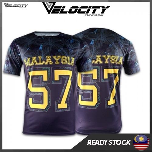 Velocity Velocool Sport Unisex Polyster Malaysia Bunga Raya 57 Limited Edition