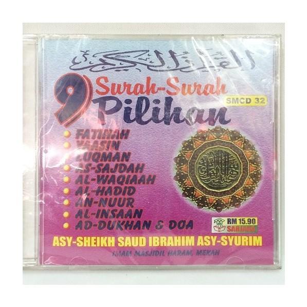 CD Surah-Surah 9 Pilihan