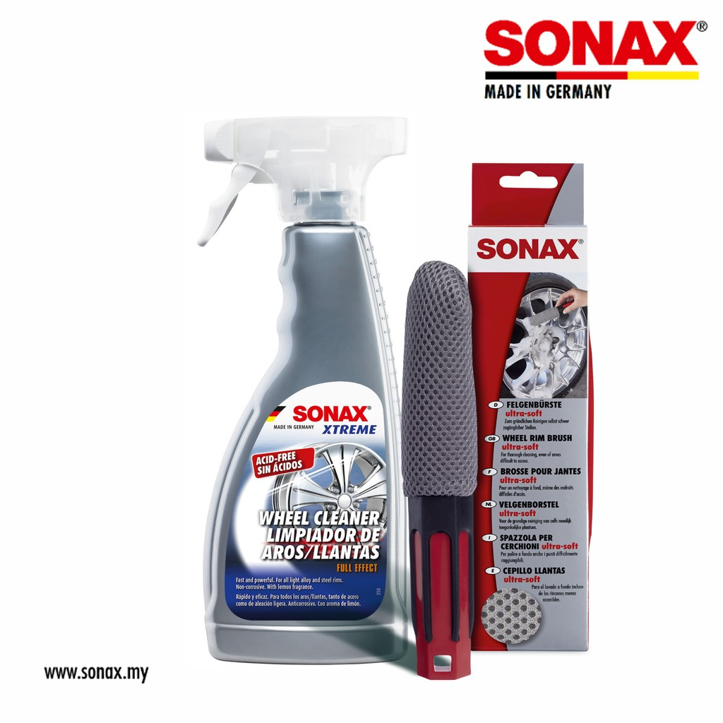 SONAX Wheel Rim Cleaning Combo Set