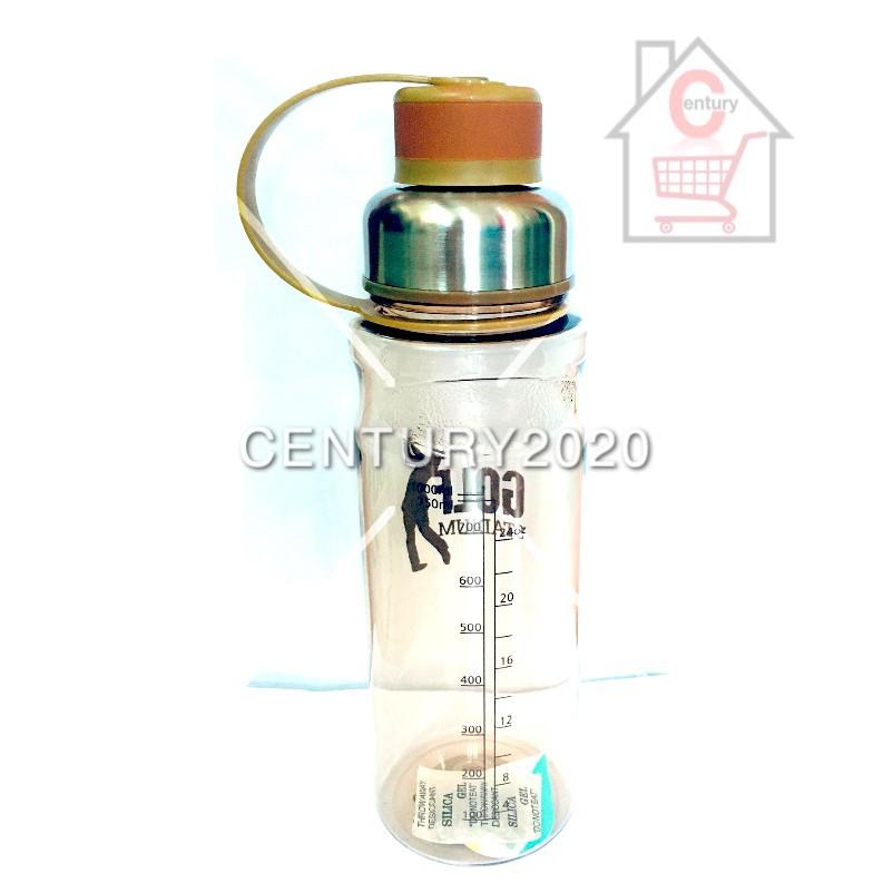 RIMEI Travel Bottle Sports Water Bottle Double Mouth Leak Proof Outdoor Sport Bottle 1000ml