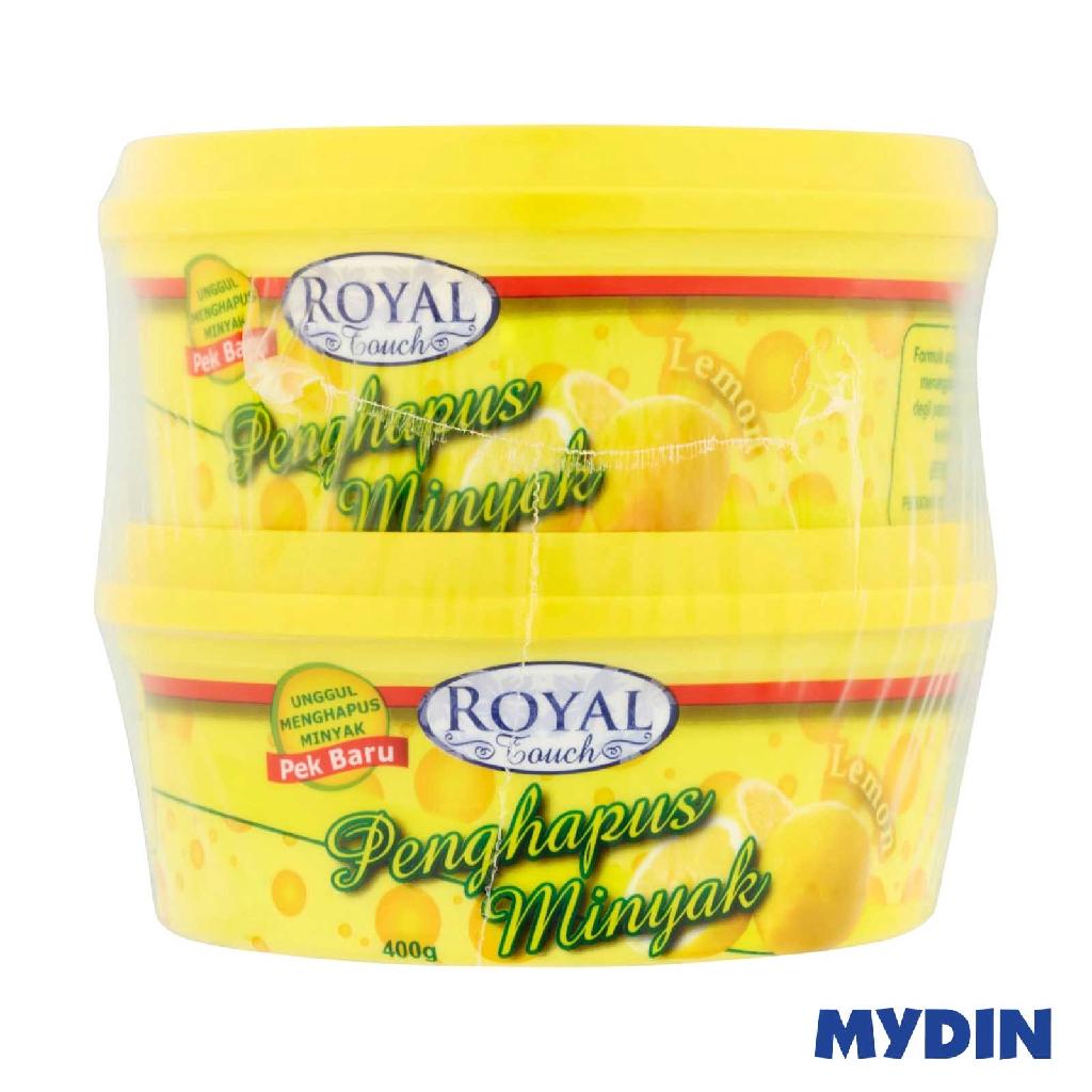Royal Touch Dishwashing Paste Lemon TwinPack (2 x 400g)