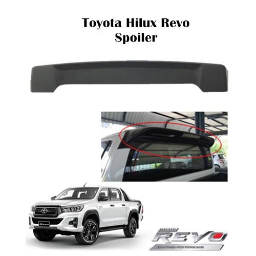 Toyota Hilux Revo ABS Matt Black Spoiler