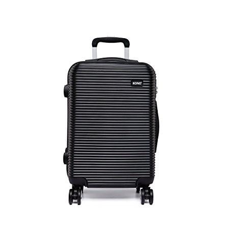 Kono Luggage Suitcase Travel Trolley Case Hard Shell 4 Wheel Spinner