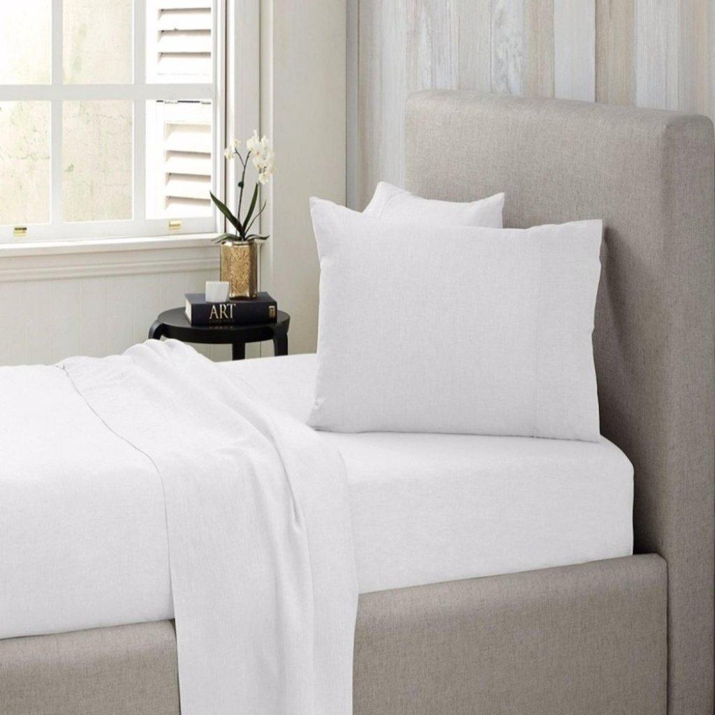 Eskays Hotel Comfort White Bed Sheet Set Singleskays Hotel Comfort White Bed Sheet Set Single Shopee Malaysia