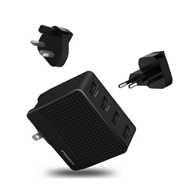 PISEN PowerCombo Port 4 Output Smart Charger 4A Max *ORIGINAL PISEN PRODUCTS(