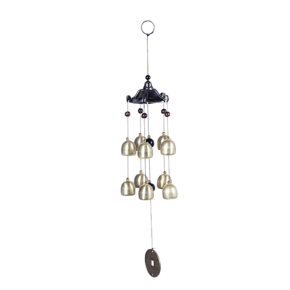Metal Tube Wind Chimes Outdoor Yard Garden Windchime Home Decor Hanging Ornament