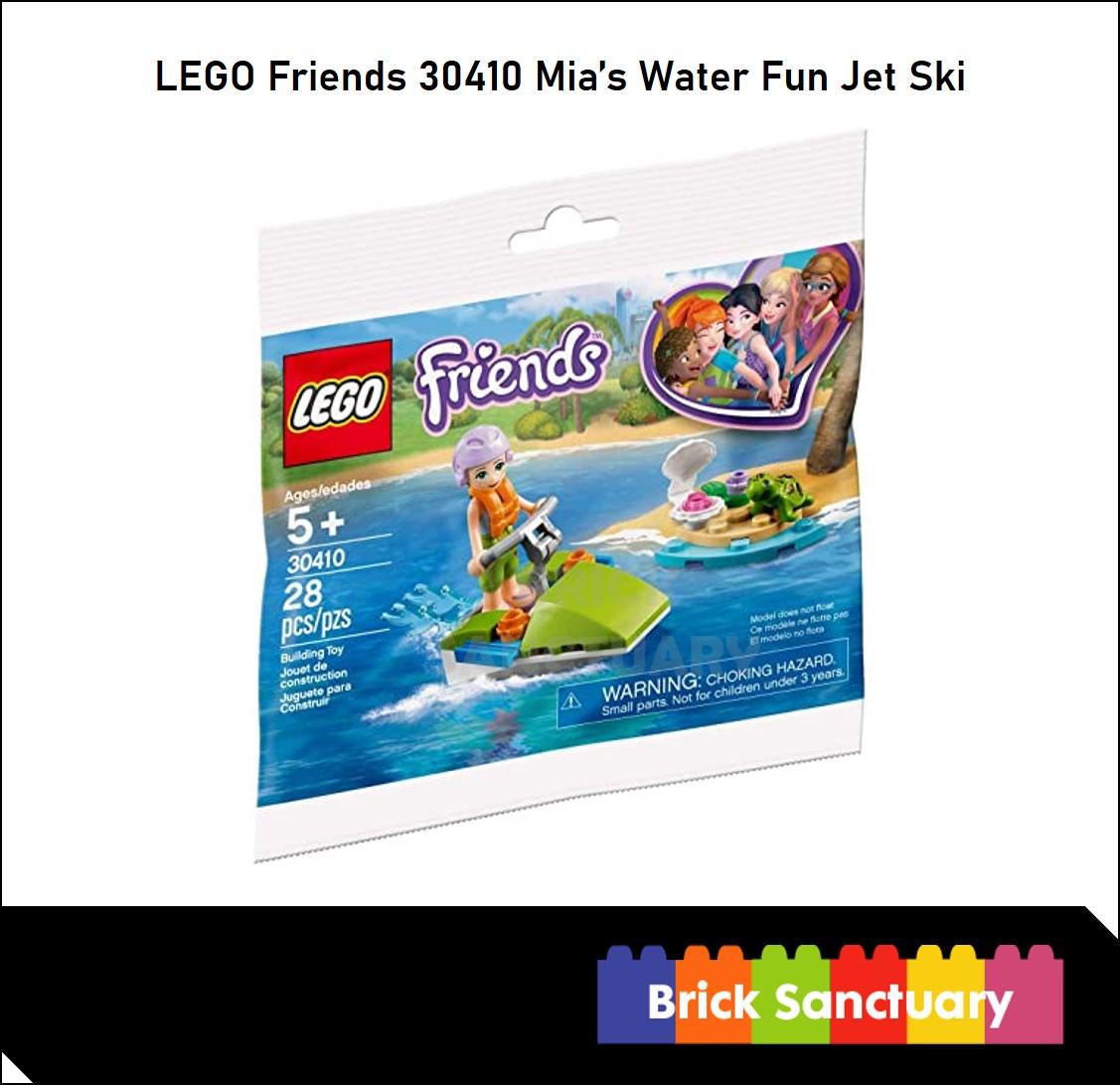 LEGO 30410 : Friends Mia's Water Fun Jet Ski