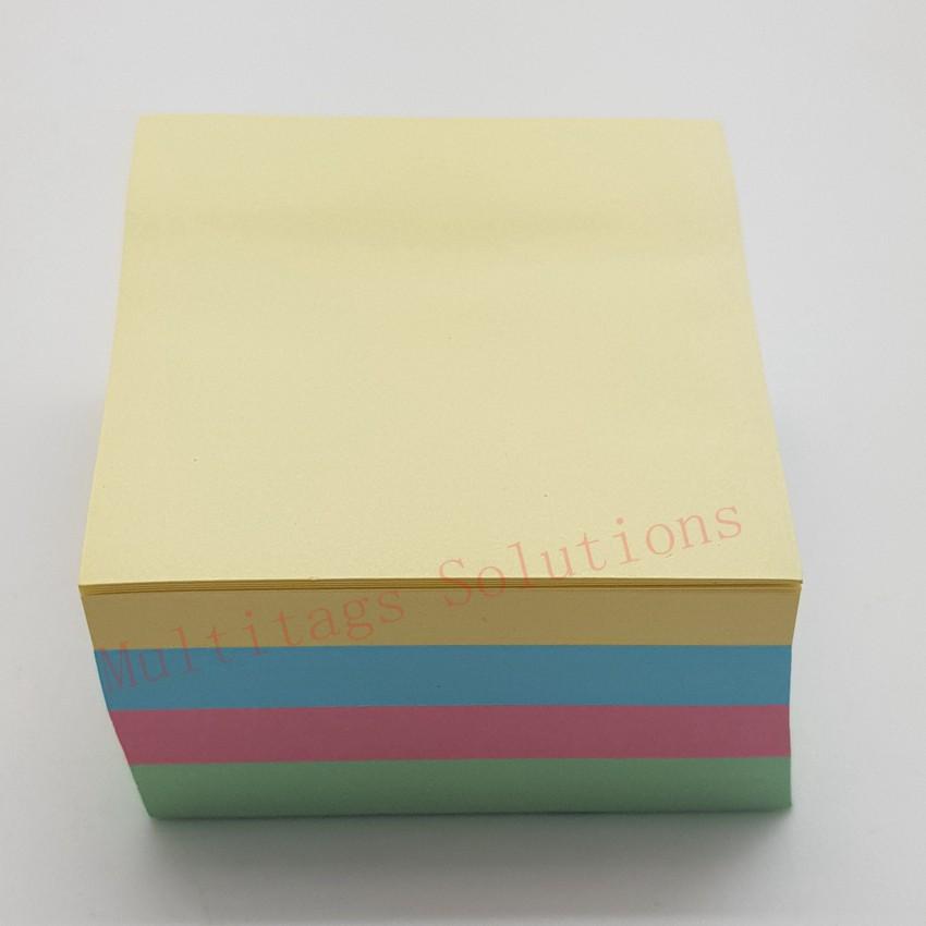 *READY STOCK* Sticky note/Post-it Sticky Notes 3 x 3 Inch Cube Capetown 400 Sheet(mix col)