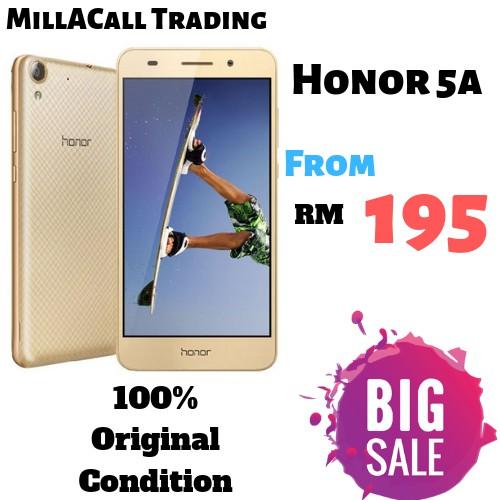 Huawei Honor 5A 2GB Ram + 16GB Rom_4G LTE Dual Sim_Fullset