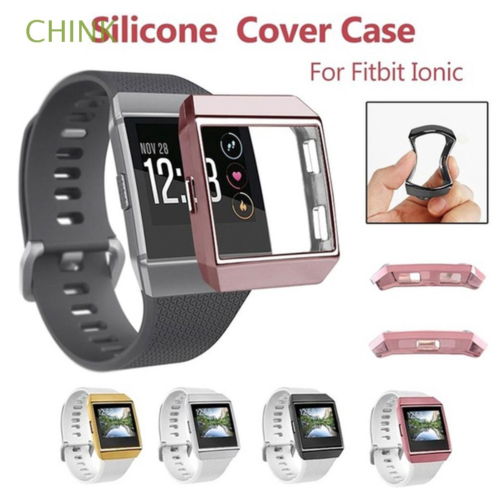 For Fitbit Ionic 2PCS Soft Clear HD Protective Waterproof Screen Film Accessory