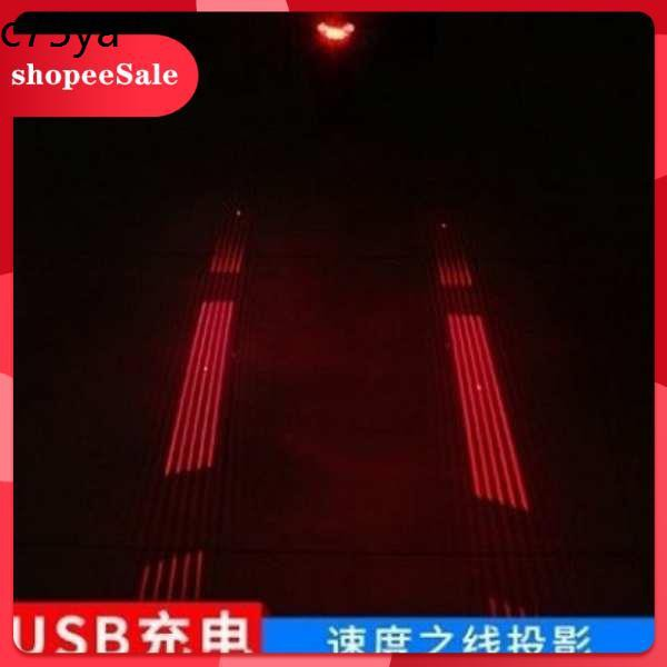 Lampu Basikal Ekor Laser Zarah