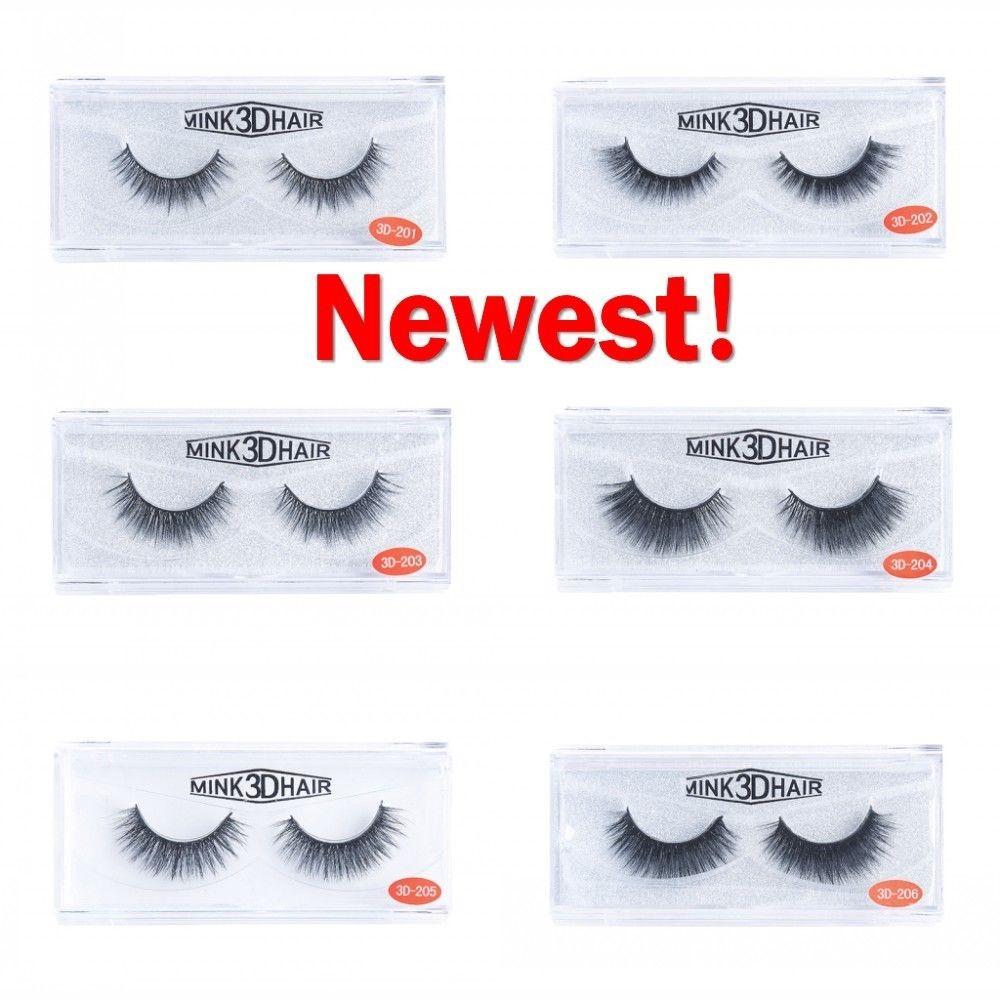 23527bf3d91 ProductImage. ProductImage. NEWEST 3D 100% Real Mink Soft Design False  Eyelashes Cross Messy Eye Lashes