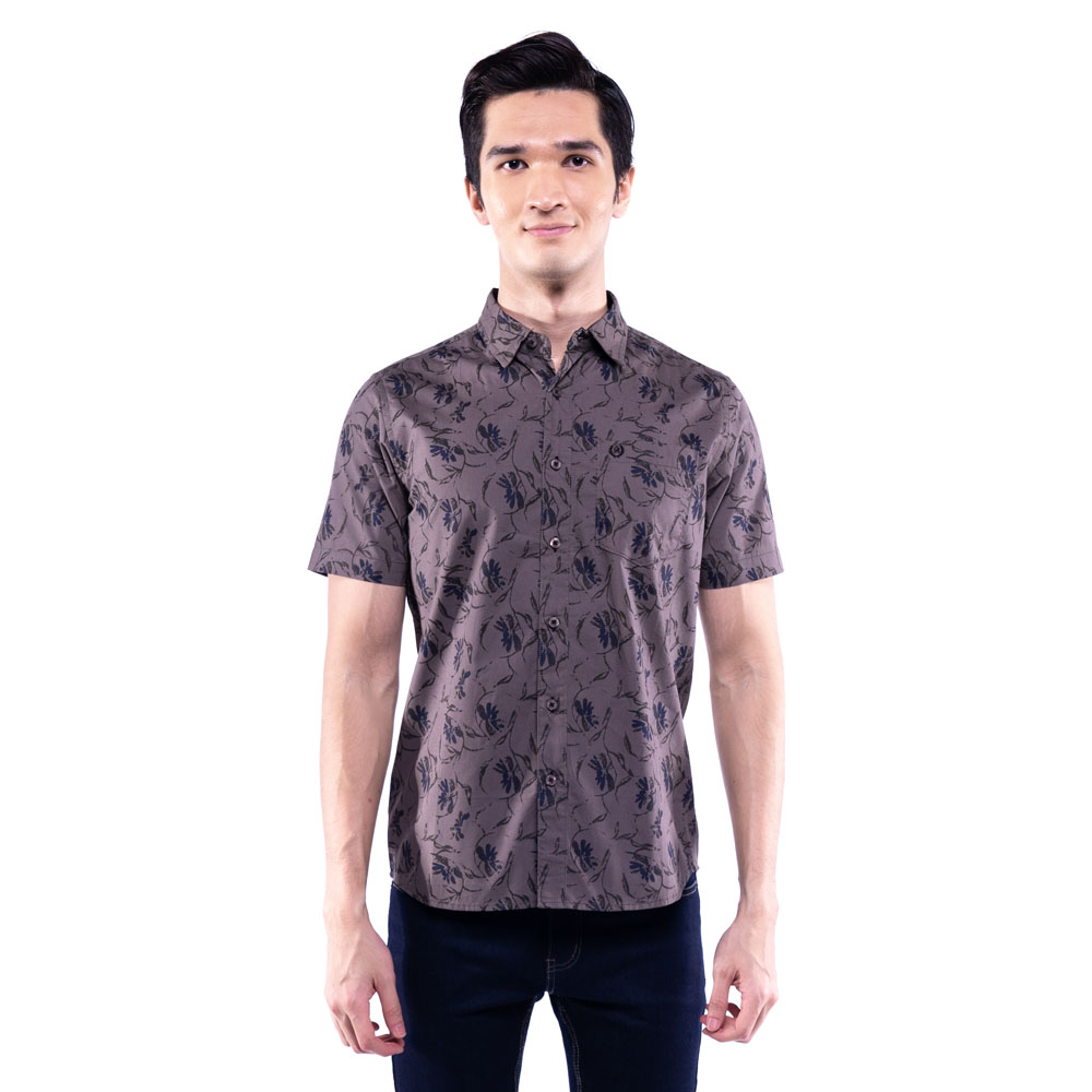 Rav Design 100% Cotton Woven Shirt Short Sleeve |RSS31443202
