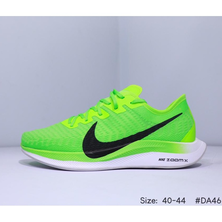 NIKE Air Zoom Pegasus Turbo woven breathable mesh running shoes with soft soles