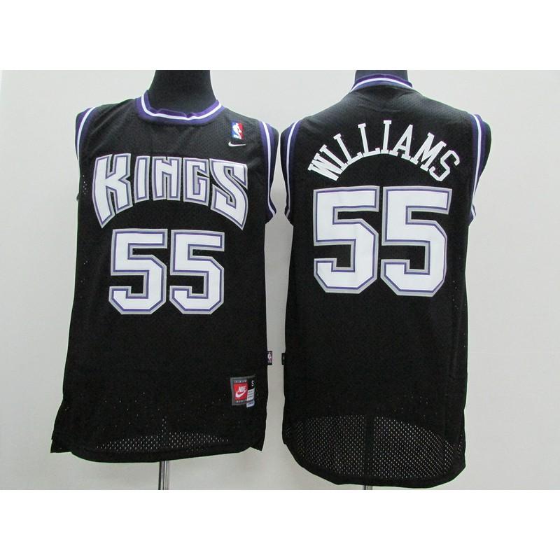 various colors a1f92 98c25 Adult Jason Williams #55 Sacramento Kings NBA Jersey sell well