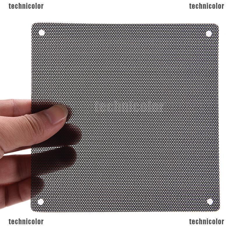 50pcs Computer PC Dustproof Cooler Fan Case Cover Dust Filter Mesh 120x120mm