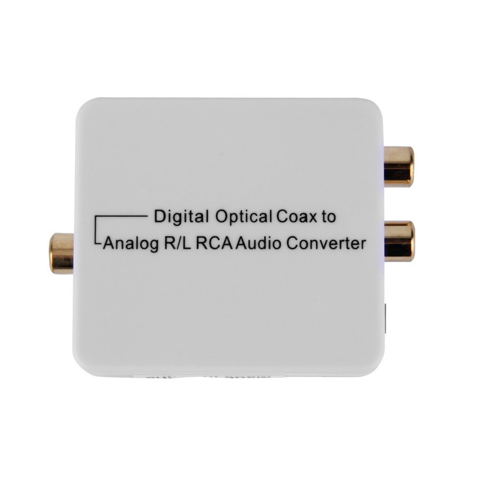 Digital To Analog Optical Coax Coaxia Toslink Rca Audio Converter Coaxial Tuner R L Shopee Malaysia
