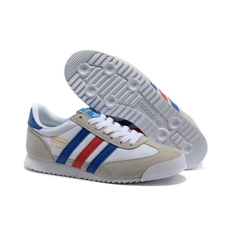 Rot Blau Adidas Running Originals Drache Schuhe : Adidas
