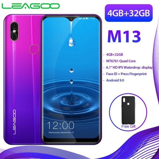 LEAGOO M13 Android 9 0 19:9 6 1