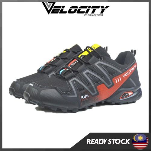Ready stock Trail Hiking Shoe Runing Shoe Jungle Tracking Shoe Water Resistance Shoe Kasut Hiking Murah