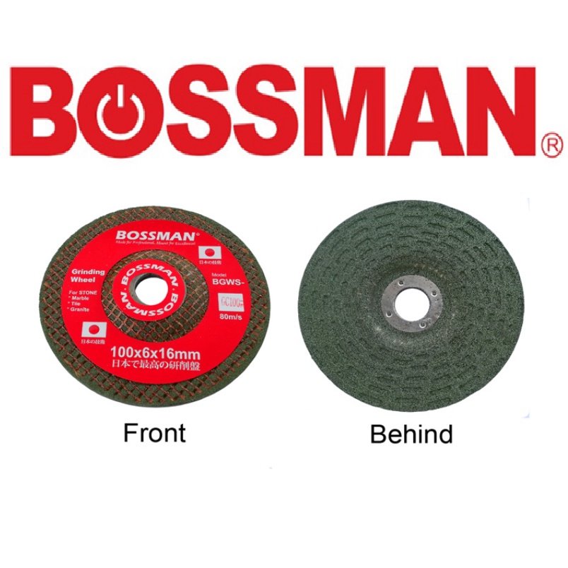 BOSSMAN GINDING WHEEL FOR STONE ACCESSORIES EASY USE SAFETY GOOD QUALITY