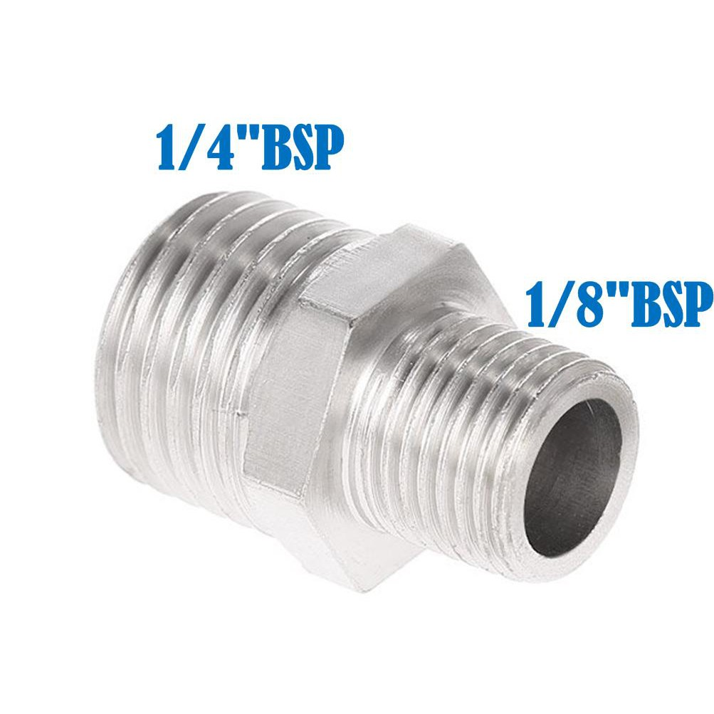 """Airbrush Male Reducer Nipple Fitting 1//4/""""-1//8/"""""""
