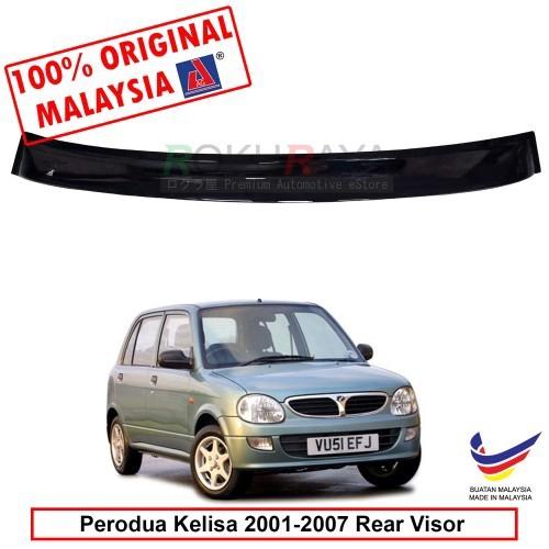 Perodua Kelisa (2001-2007) AG Rear Wing Spoiler Visor (Small 10cm)