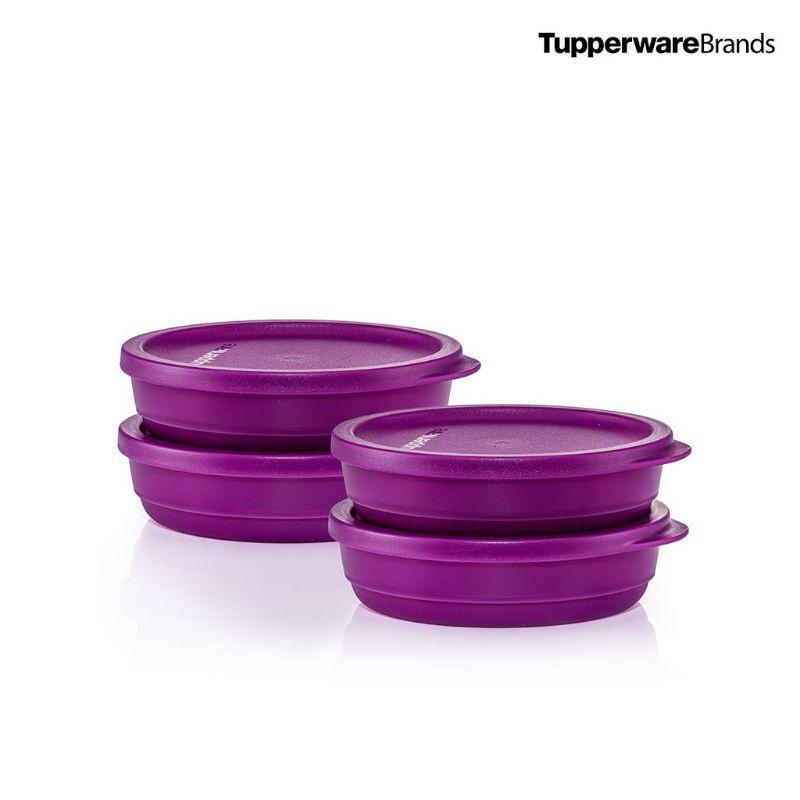 Tupperware Summer Fresh Round 200ml 4pcs