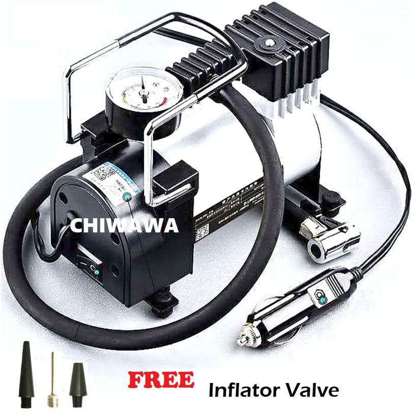 Heavy Duty Electric Auto Car Air Compressor Pump Tyre Inflator DC 12V 965  kPA
