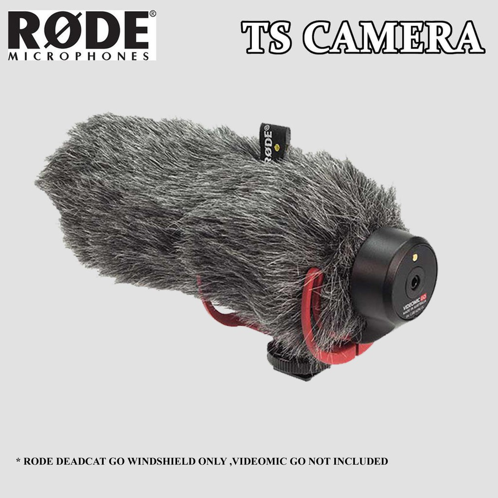 RODE DEADCAT GO / RODE VIDEOMIC GO WINDSHIELD / WINDSHIELD FOR RODE VIDEO MIC GO