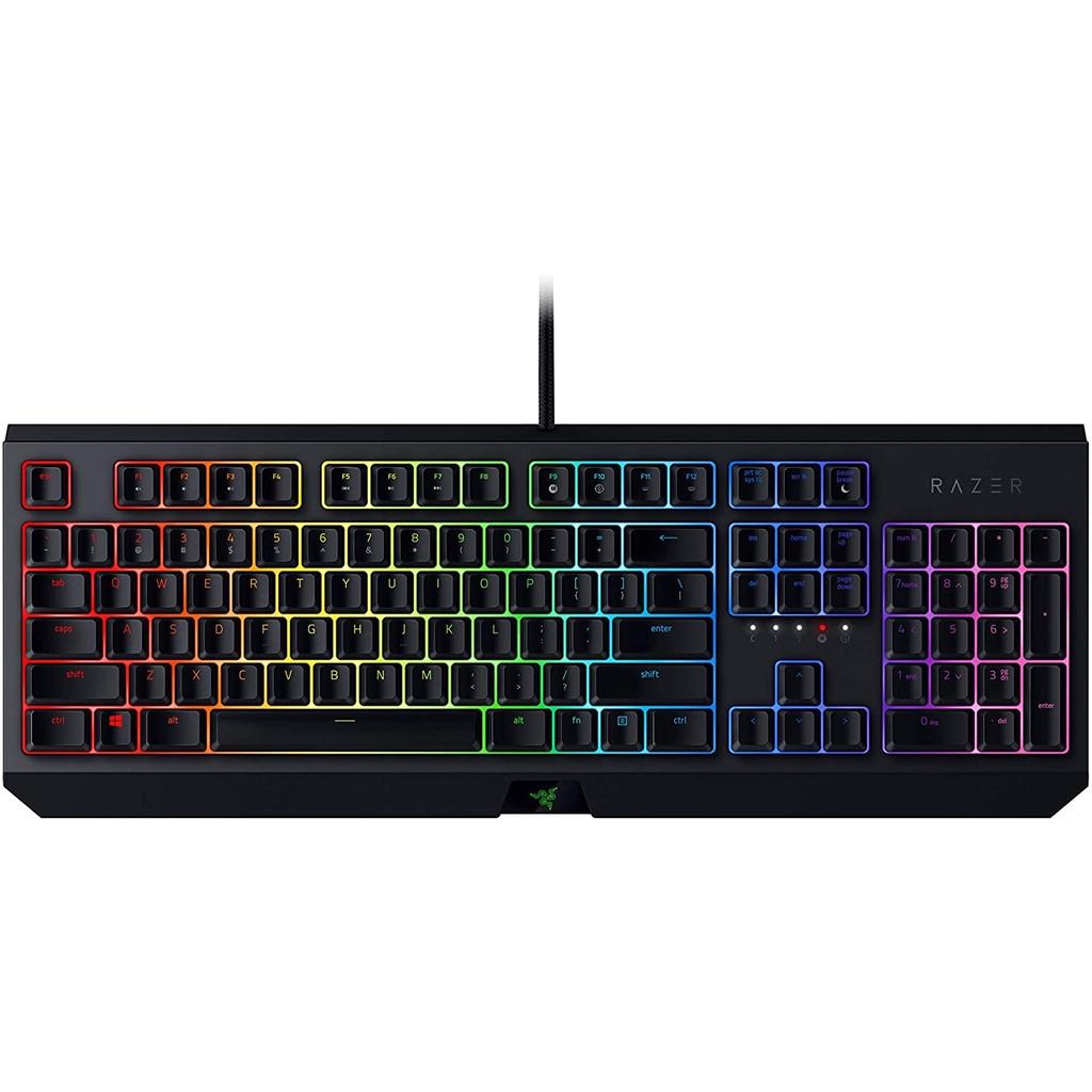 {Drop off 24 Hours}  Razer BlackWidow Gaming Keyboard Green Mechanical Switches