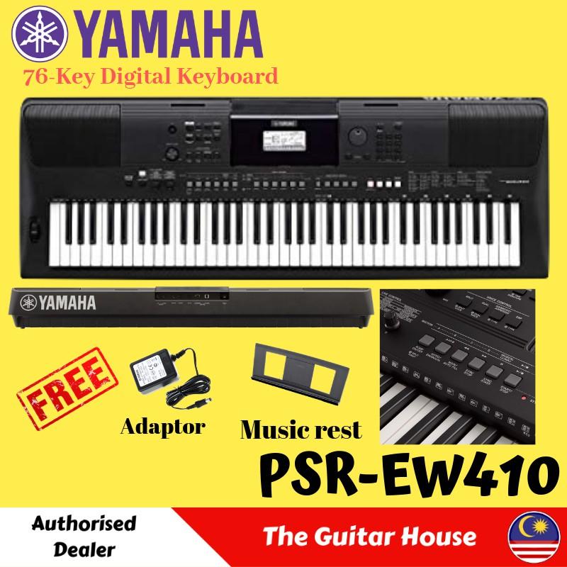 Yamaha PSR-EW410 76-key Portable Keyboard (PSREW410)