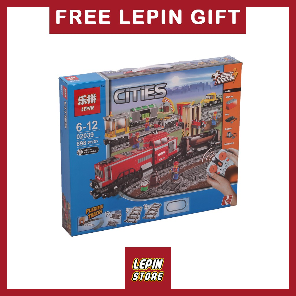 Toys Building Train Set Cargo Series 02039 City Lepin The Bricks Iyb76gfvY