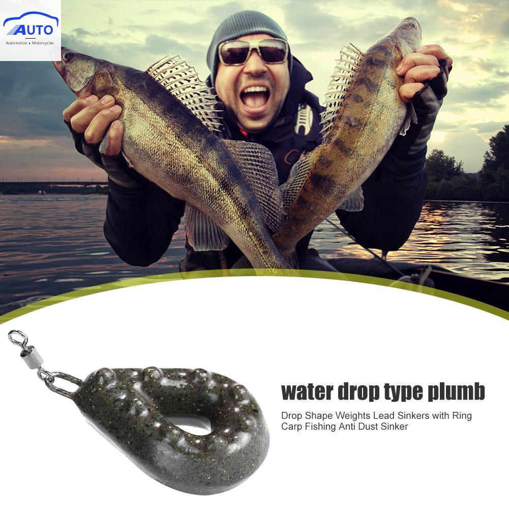 5pcs Shot Drop Lead Sinker Lead Pensil Sinker Weight Perch Chub Fishing Fisher