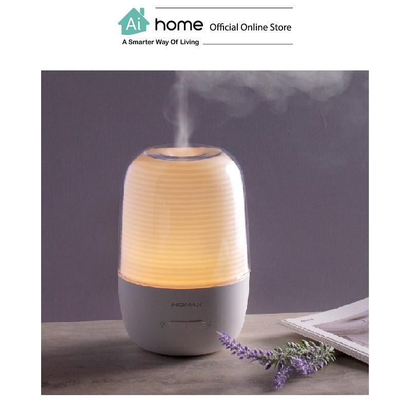 MOMAX Health Feel Aroma Diffuser & Humidifier (HD1W) with 1 Year Malaysia Warranty [ Ai Home ]