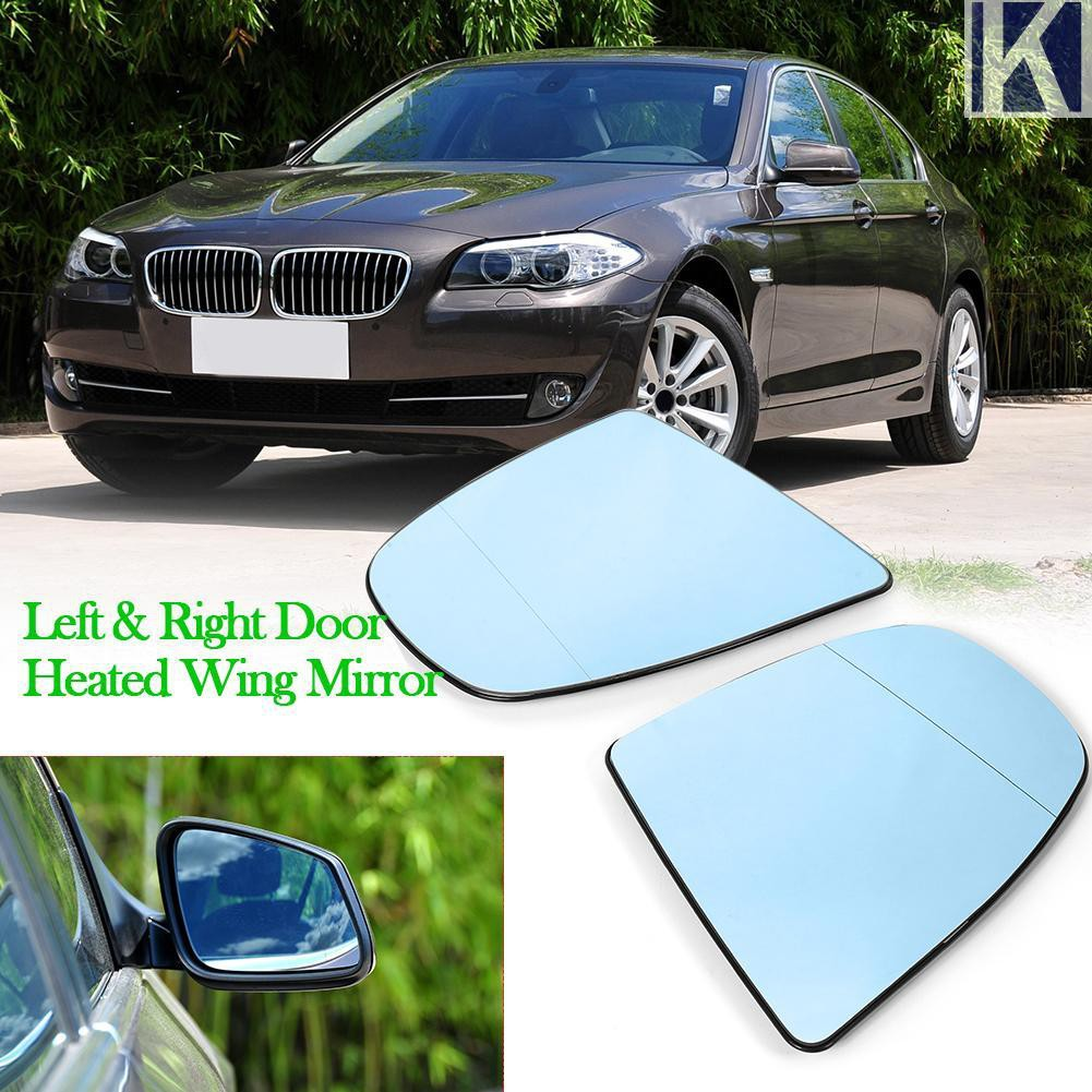 ✺✺Kem✺1 Pair Wing Mirror Glasses for X6 E71 E72 08-14 X5 E70 E70 LCI 07-13  Blue