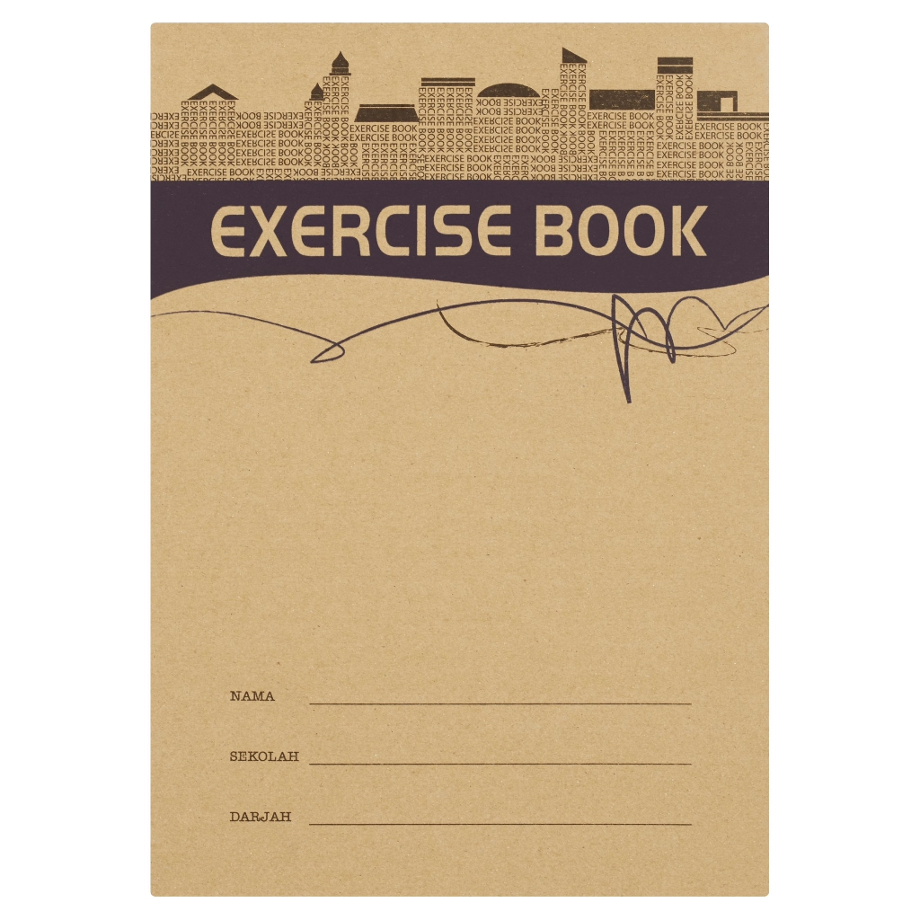 Up Classic Exercise Book CS0095 80s Kraft Cover