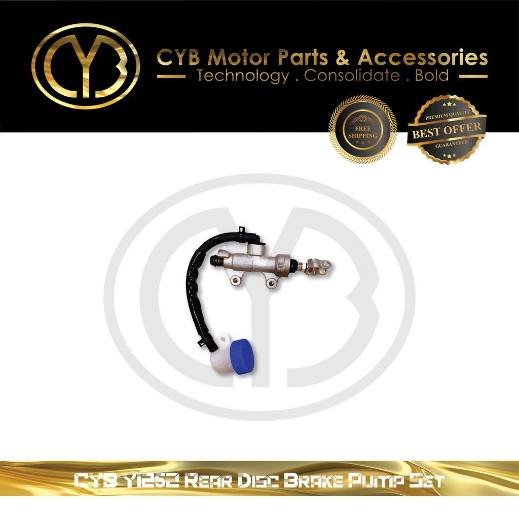 CYB Y125Z REAR DISC BRAKE PUMP SET