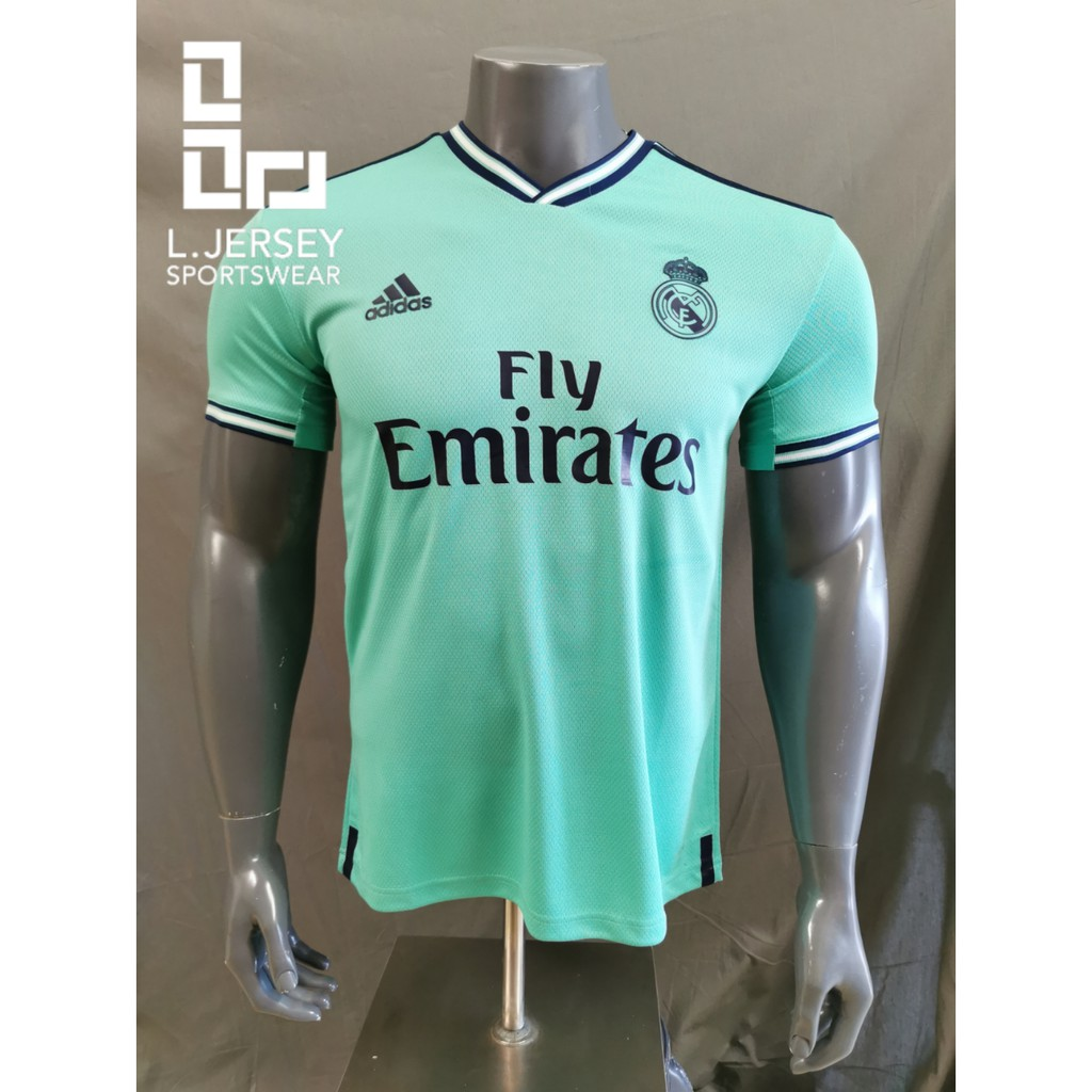 Real Madrid Men 3rd Kit Season 19/20 CLIMALITE Fans Jersey