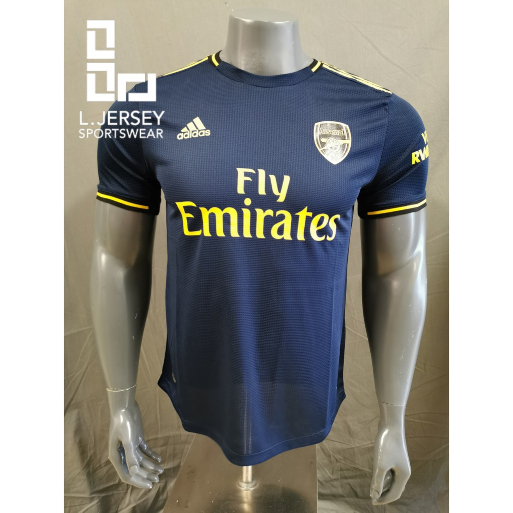 Arsenal Men 3rd Kit Season 19/20 CLIMACHILL Player Jersey